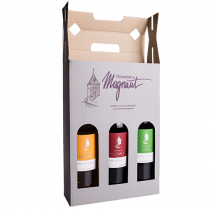 Coffret 3 bouteilles de vin