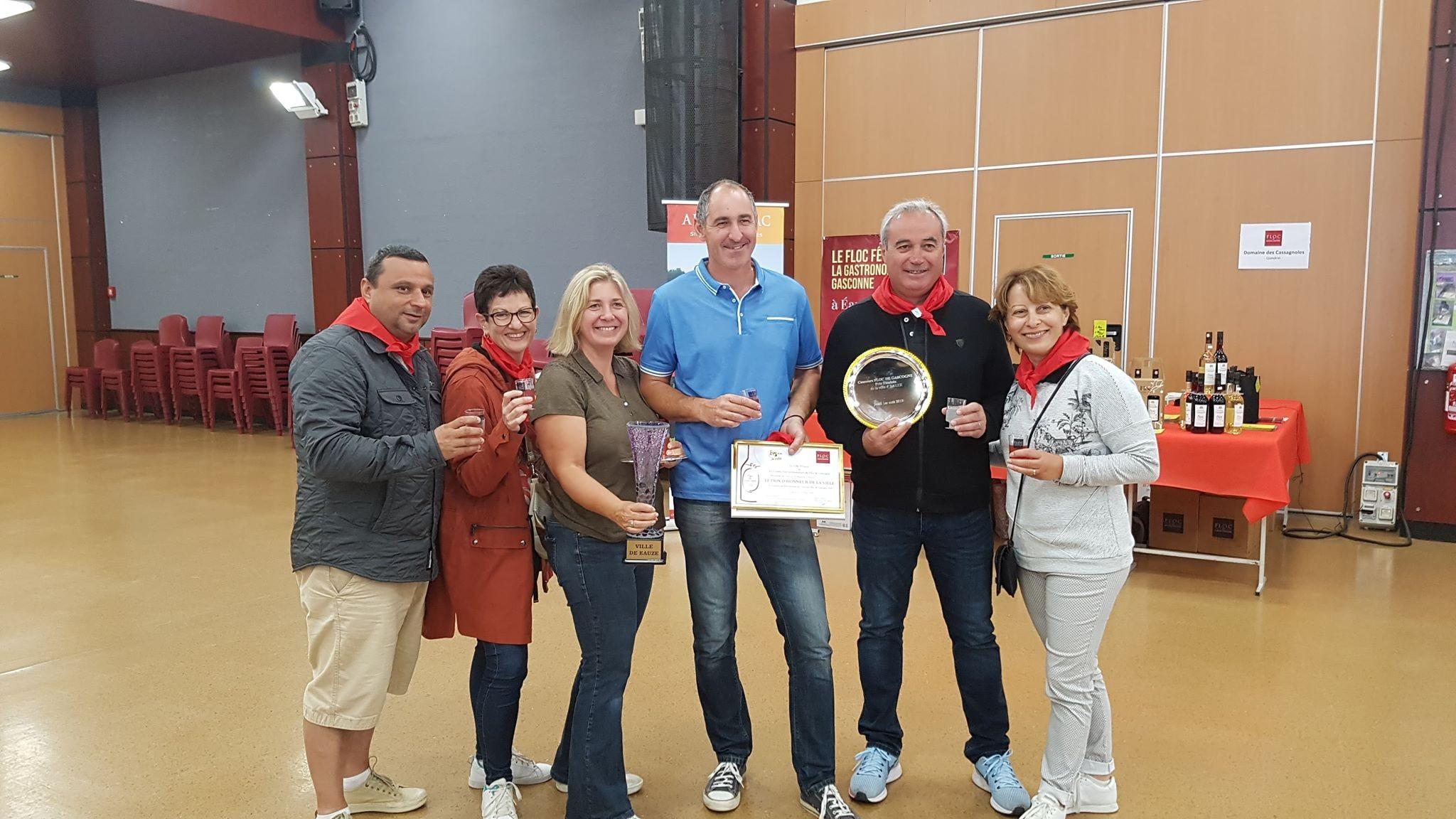 Récompenses Concours Floc de Gascogne !