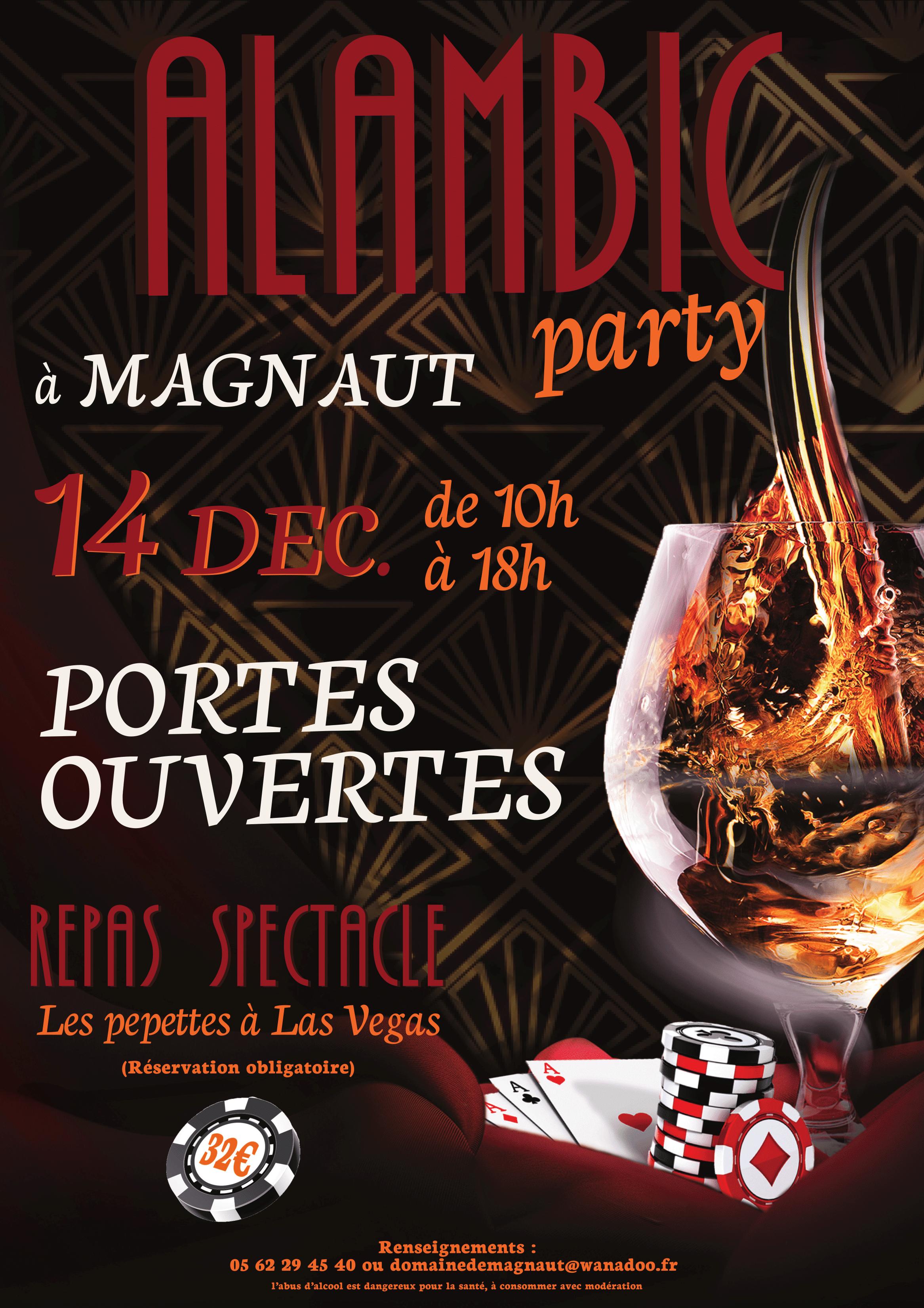Alambic Party : Samedi 14 Décembre !