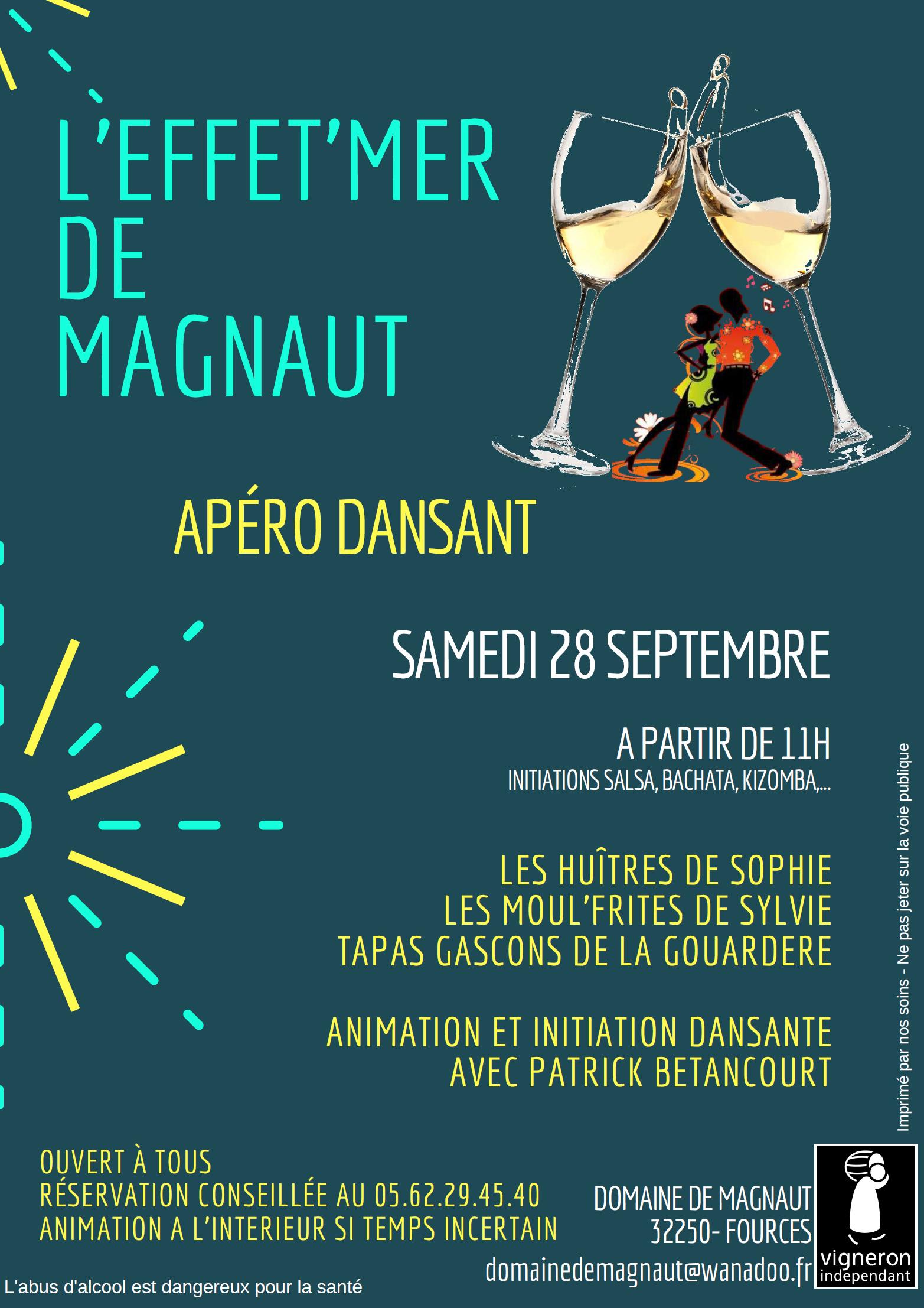 L'Effet'Mer de Magnaut : Apéro Dansant !