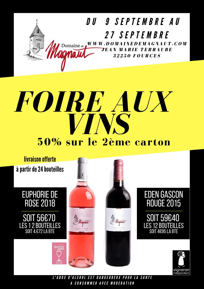 Foire aux vins 2019 !