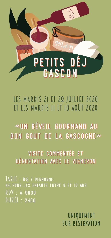 Les Petits Dej Gascons ! - été 2020
